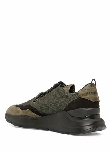 Leather Crown Sneakers Haki